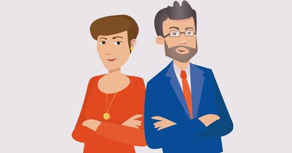 """Comptable et chef d'entreprise : le """"couple professionnel"""" par excellence !"""