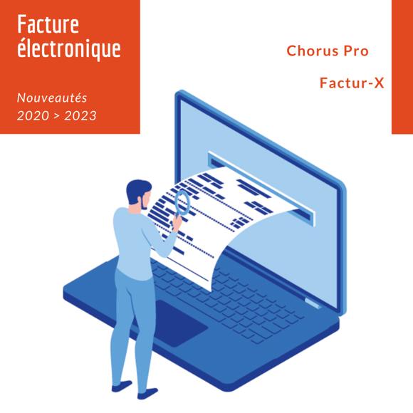 La nouvelle facture électronique Factur-X comprend 2 faces : l'une lisible par l'homme, l'autre par la machine