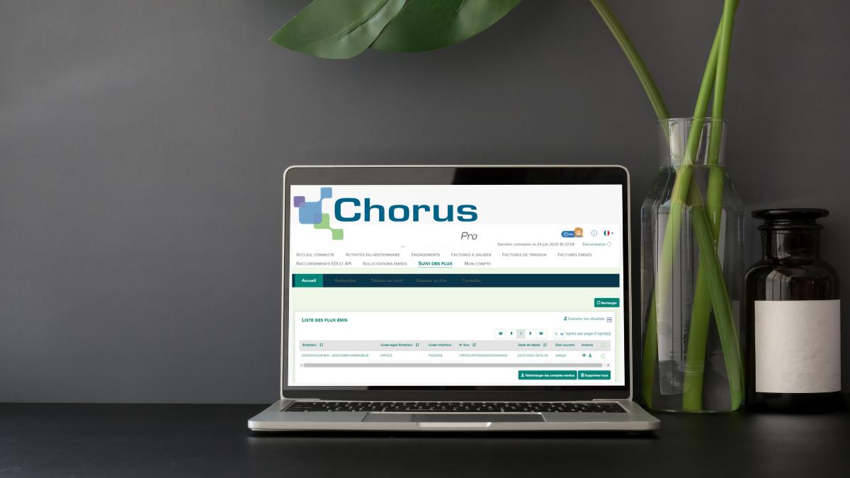 Comment déposer sa facture sur Chorus Pro ? - featured image